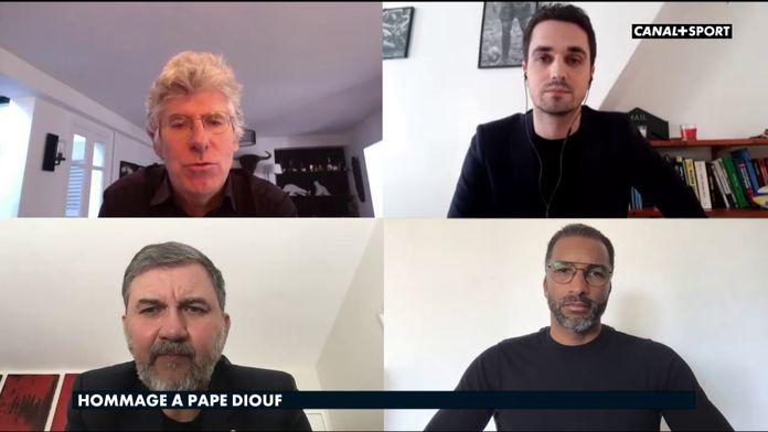 Philippe Doucet et Geoffroy Garétier rendent hommage à Pape Diouf : Late Football Club