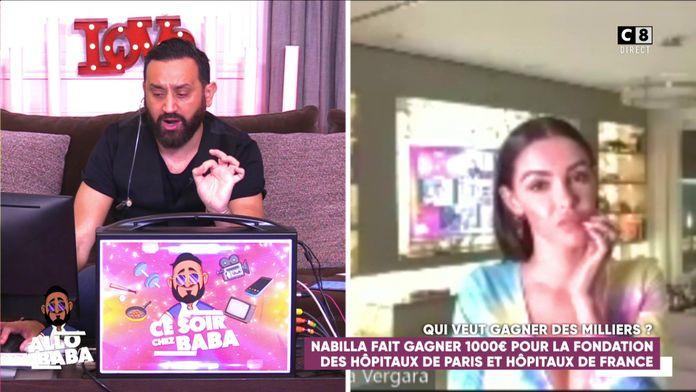 """""""Qui veut gagner des milliers ?"""" Nabilla joue pour la fondation des Hôpitaux de France et de Paris"""