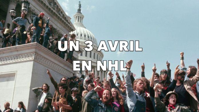 Un 3 avril en NHL : Sport américain