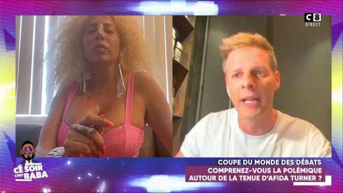 """Matthieu Delormeau choqué par la tenue d'Afida Turner dans Ce Soir Chez Baba : """"Tu n'as pas respecté les gens"""""""