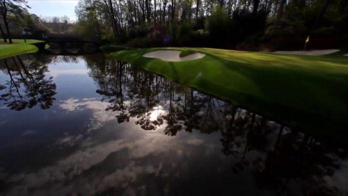 """Comment jouer """"l'Amen Corner"""" par Tiger Woods : Masters"""