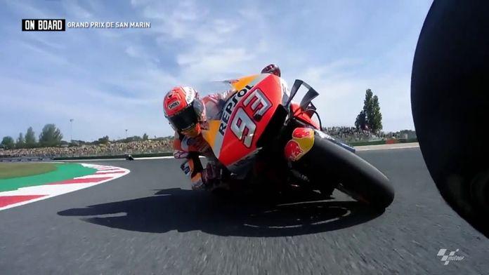 ON BOARD MotoGP - Grand Prix de San Marin 2019 : MotoGP