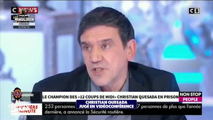 Christian Quesada jugé en vidéoconférence