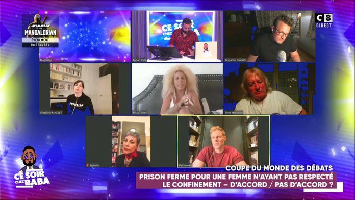 Une femme condamnée à 6 mois de prison ferme pour non-respect du confinement