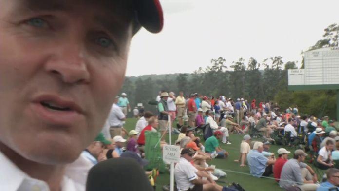 Thomas Levet vous fait visiter l'Augusta National Golf Club : Masters