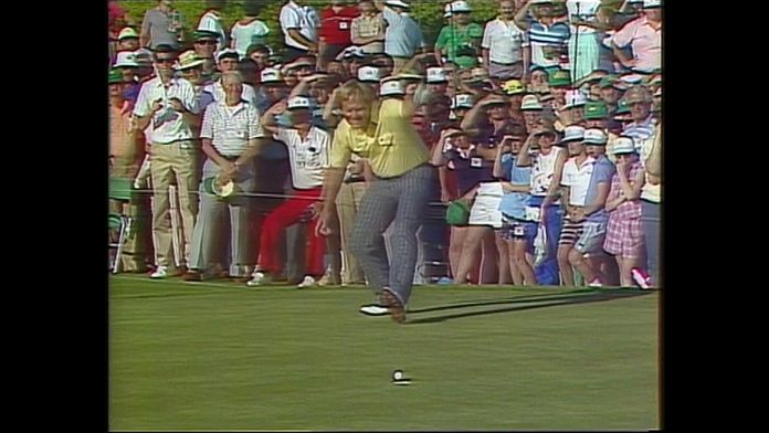 La dernière veste verte de Jack Nicklaus : Masters 1986