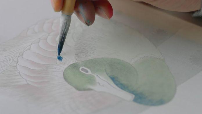 Hokusai, le vieil homme et la peinture