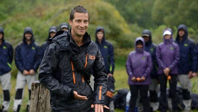 Sortir vivant avec Bear Grylls : The Mountains Will Give You Strength
