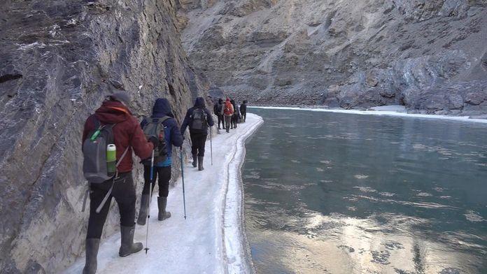 Chadar, le trek des glaces