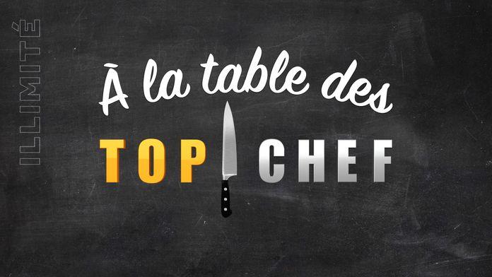 A la table des Top Chef