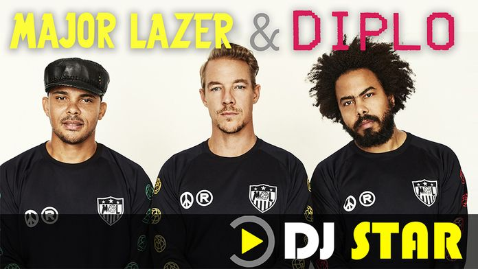 DJ STAR : DIPLO & MAJOR LAZER