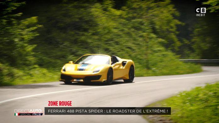 Ferrari 488 Pista : Le roadster de