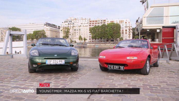 Match : Mazda MX5 vs Fiat Barchett