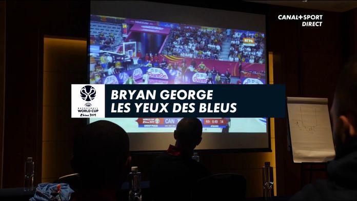 Bryan George, les yeux des bleus