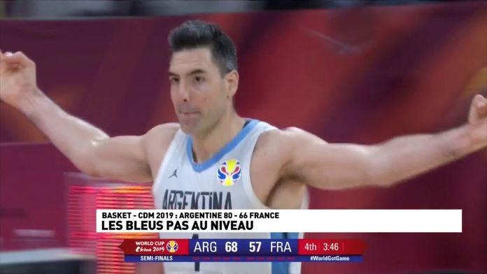 L'argentine implacable face à la France