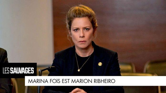Marina Foïs est... Marion Ribheiro