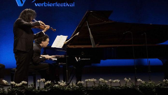 Evgeny Kissin et Leonidas Kavakos interprètent la sonate pour piano et violon n°9 de Beethoven au Festival de Verbier 2019 - Ép 564