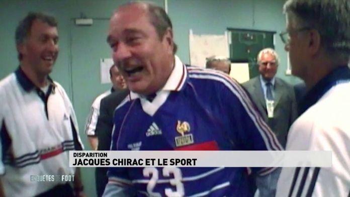 Disparition : Jacques Chirac et le sport