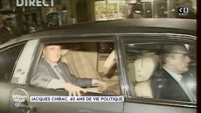 Jacques Chirac, 40 ans de vie politique