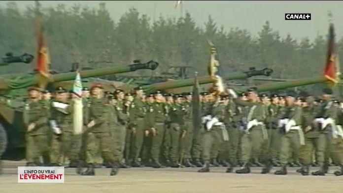 Suppression du service militaire obligatoire sous Jacques Chirac