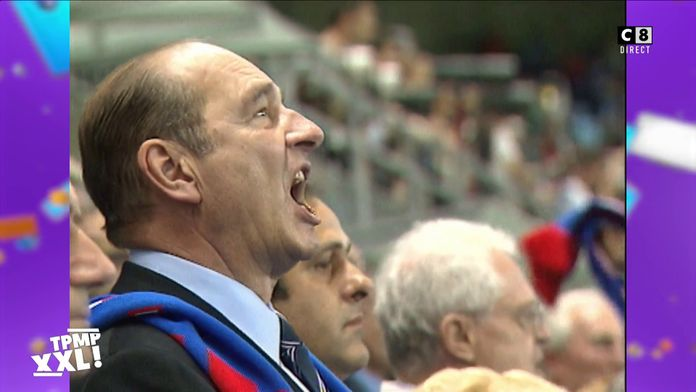 Hommage à Jacques Chirac : Lorsque Jacques Chirac crie le nom des joueurs de l'équipe de France