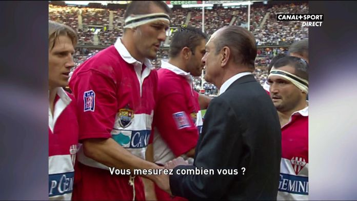 L'hommage du Late Rugby Club à Jacques Chirac