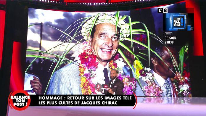 Les moments de folie de Jacques Chirac