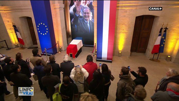 La journée d'hommage à Jacques Chirac