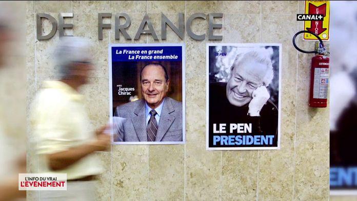La rivalité entre Jacques Chirac et Jean-Marie Le Pen