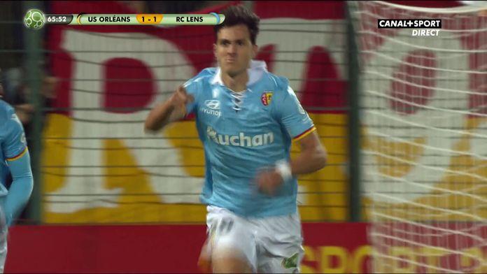 Radovanovic donne l'avantage au RC Lens / Ligue 2 - 9ème journée
