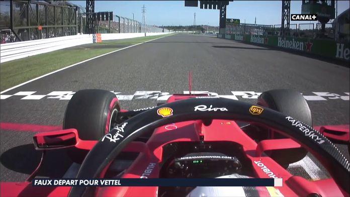 Débat sur le faux départ de Vettel