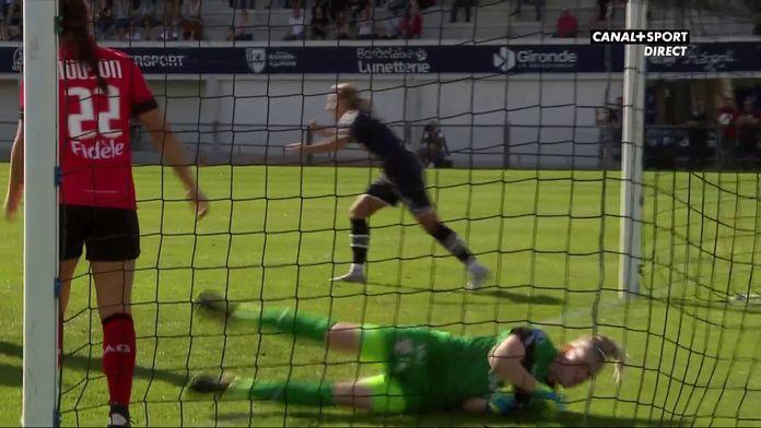 D1 Arkema : L'ouverture du score des Girondines face à Guingamp