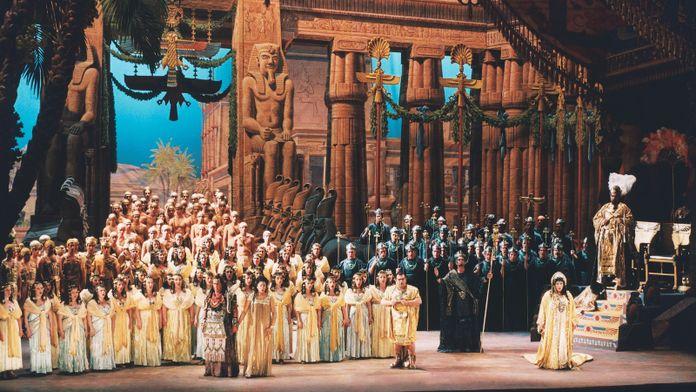 Verdi - Aïda : Gran Teatre de Liceu (Barcelone, Espagne), 2003