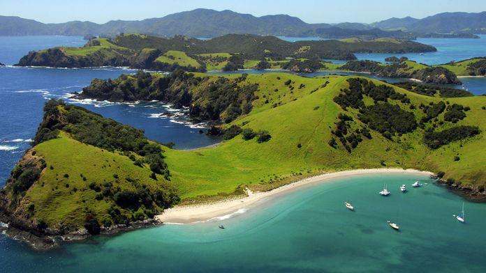 Décollage pour la Nouvelle-Zélande