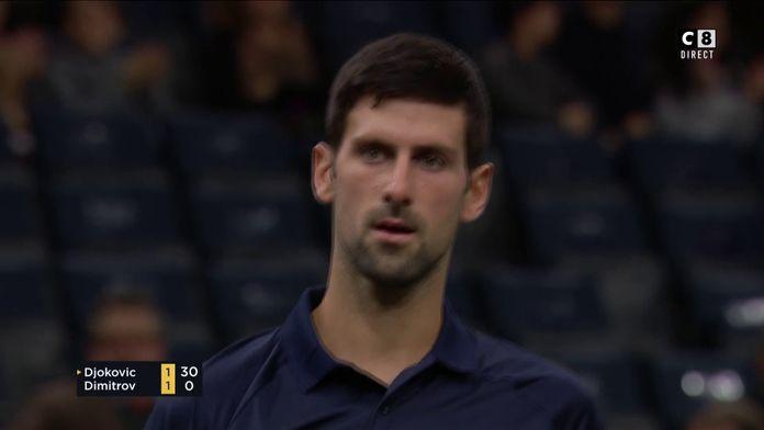 Le résumé de Djokovic / Dimitrov