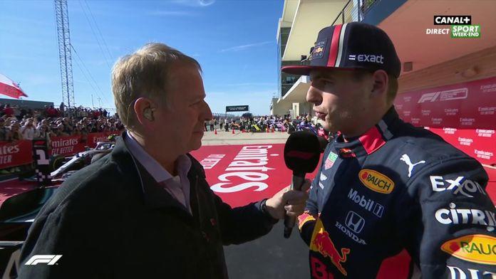 "Verstappen : ""Je pense qu'on aurait pu finir 2e"""