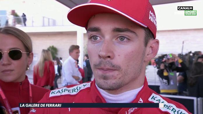 """Leclerc : """"J'ai pas du tout senti les pneus"""""""