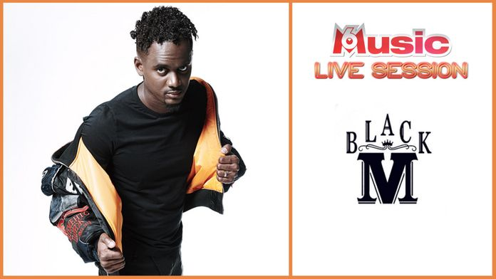 M6 Music Live Session : Black M