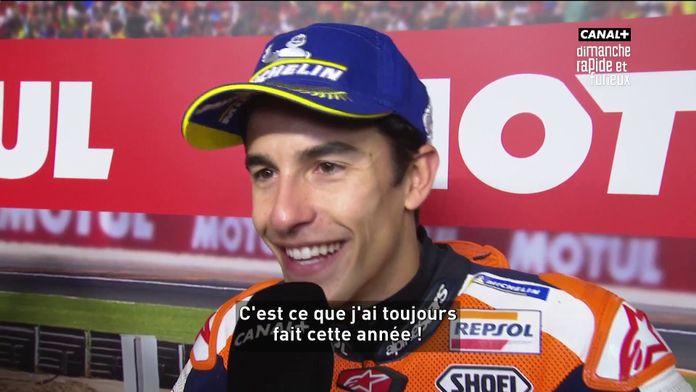 """Marc Marquez : """"C'est le moment de profiter"""""""