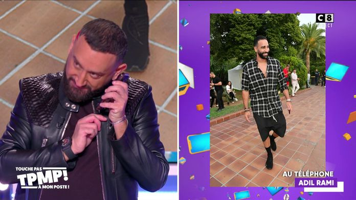 Cyril Hanouna appelle Adil Rami en direct