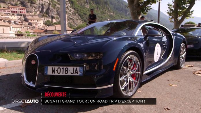 Buggatti Grand Tour : Un road trip d'exception !