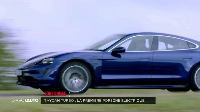 Taycan Turbo : la première Porsche électrique