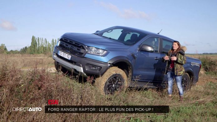 Essai : Ford Ranger Raptor