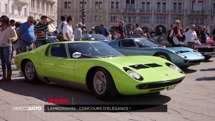 Lamborghini : concours d'élégance !