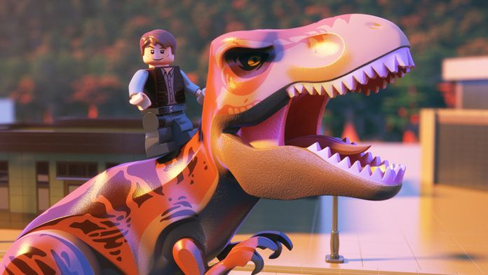 LEGO Jurassic World : l'évasion d'Indominus Rex