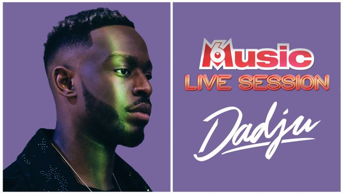 M6 Music Live Session : Dadju