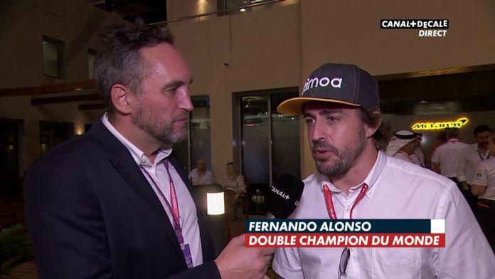 Des nouvelles de Fernando Alonso