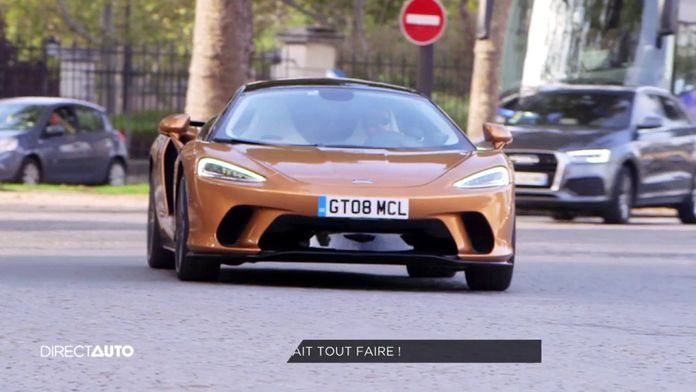 Zone Rouge : McLaren GT