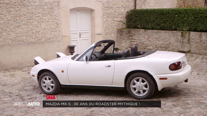 Mazda MX-5 : 30 ans du roadster mythique !