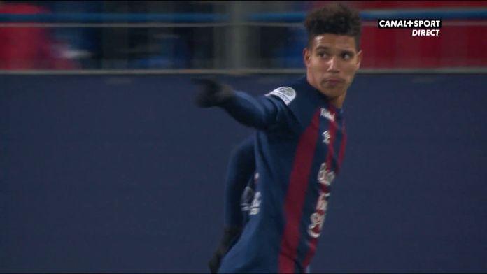 Caen ouvre le score grâce à Gioacchini